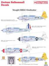 Techmod Decals 1/48 VOUGHT SB2U VINDICATOR w/Photo Etch & Masks