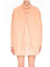 The Fifth Systems Apricot Soft Cocoon Wool Mix Coat  M  NEW