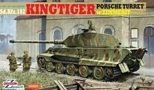 DRAGON 6302 1/35 Kingtiger Porsche Turret w/ Zimmerit