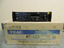 TEAC Reference Series NT-503 Dual Monaural USB DAC & Network Player (Black)