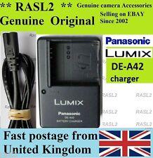 Original Panasonic charger DE-A42 DMC-LX3 DMC-LX2 DMC- FX180 FX150 FX100 FX50