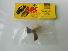 Rc Boat prop ABC H-1614 3 blade new