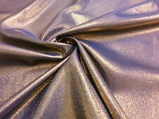 Gold & Blue Metallic Sparkle 2-Tone Fabric Wedding Drape Tablecloth Waistcoat