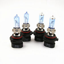 9005XS + 9006XS CAR WHITE XENON HID HALOGEN HEADLIGHT BULBS FOR LOW + HIGH BEAM