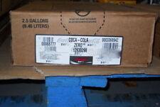 Coke Zero Soda Syrup Concentrate 2.5 Gallon Bag in Box Sodastream
