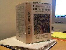 Observer book of trees & shrubs of the British Isles