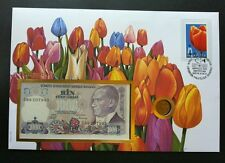 Canada Tulips 2002 Flower Flora Plant (banknote coin cover) *3 in 1 *rare