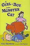 NEW - A Girl, a Boy, and a Monster Cat by Gauthier, Gail