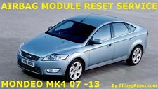 FORD MONDEO MK 4  AIRBAG MODULE RESET | ECU CRASH DATA RESET SERVICE