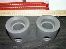 2 NOS SIEMENS WALLACE TIERNAN PUMP INLET PIPE HOUSING INJECTOR PVC FREE SHIPPING