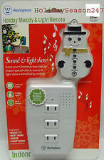 Westinghouse Holiday Musical Sound & Light-Show Blinker Play Christmas Music NEW