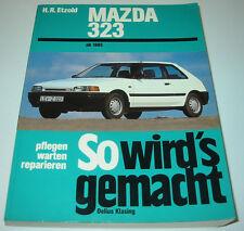 Reparaturanleitung Mazda 323 Typ BF Benzin + Diesel 55 - 128 PS ab Baujahr 1985!