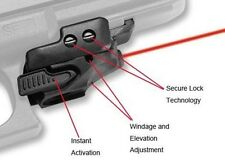 Polymer Tactical Mini Pistol Glock Red Laser Sight Rail Accessory for Hunting