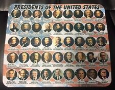 NEW PRESIDENTS OF THE UNITED STATES MOUSE PAD WITH TRUMP