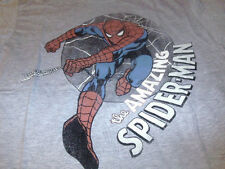 New Amazing Spider-Man Mens KO Gray Super Hero Marvel T-Shirt  Size Large L