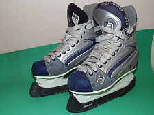 SHERWOOD RAPTOR 6 Junior ICE SKATES ICE HOCKEY UK Size 5 Black Childrens