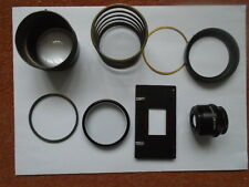 Leitz Focomat 1c enlarger parts (lens,neg carrier etc)