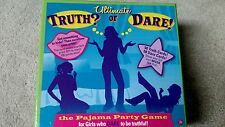 ULTIMATE TRUTH OR DARE PAJAMA PARTY GAME 2011 SWINGSET PRESS