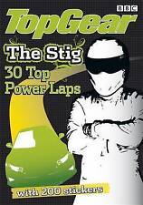 BBC TOP GEAR THE STIG 30 POWER LAPS OVER 200 STICKERS JEREMY CLARKSON