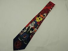 College Toons Mens Neck Tie University of Alabama Bama Bugs Bunny Daffy Duck