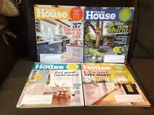 4 This Old House Magazines 2014 (Jan/Feb, April, May, Aug)