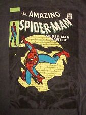 The Amazing Spider Man Spiderman Comic Book Cover Graphic Soft T Shirt XL