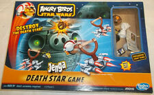 HASBRO GAMING ANGRY BIRDS STAR WARS JENGA DEATH STAR GAME HASBRO GAMING VGC