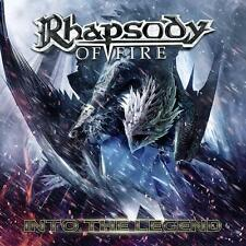 RHAPSODY OF FIRE  - Into the Legend CD DIGIPACK +BONUSES