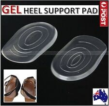 Gel Shoes Cushion Heel Cup Massage Pads Orthotic Insert Insole Plantar Fasciitis