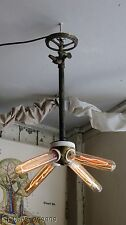 ANTIQUE CUSTOM MADE STEAMPUNK / VICTORIAN CEILING LIGHT. ONE OF A KIND. L@@k!!