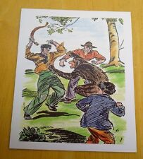 THE FAMOUS FIVE POSTCARD ~ FIVE AND THE MONKEY MISCHIEF ~ ENID BLYTON ~ NEW