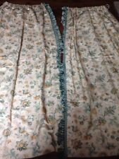 "Nina Campbell Pair Of Lined Curtains 48"" Wide 90"" Long"