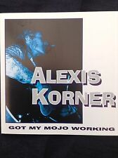 ALEXIS KORNER: GOT MY MOJO WORKING 1994 Castle CD Early British R&B