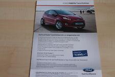 99851) Ford Fiesta + Ka Trend Edition Prospekt 06/2011