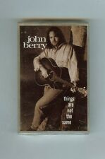 JOHN BERRY - Things Are Not the Same - CASSETTE - NEW