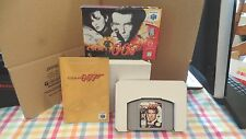 James Bond 007 Golden Eye 64 N64 Nintendo 64 Complete VGC