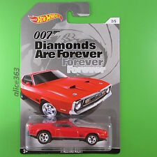 HOT WHEELS 2015 - James Bond 007 - ´71 Mustang Mach 1  -  neu in OVP