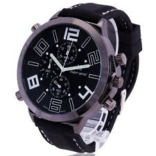 Gorgeous Oversize Cool Men's Army Military Luxury Sport Quartz Wrist Watch Reloj