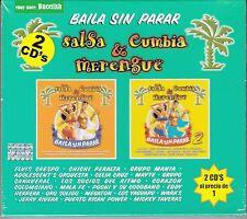 Salsa y Cumbia y Merengue 2CD Elvis Crespo,Chichi Peralta,Grupo Mania,Celia Cruz