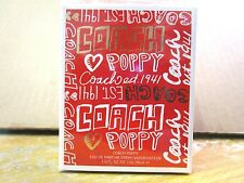 Coach Poppy Eau De Parfum EDP Spray 1 fl oz ~ EW 3587S