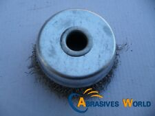 "1x3""(75mm) STAINLESS STEEL WIRE CUP BRUSH FOR 5""(125mm) ANGLE GRINDER POWER TO0L"