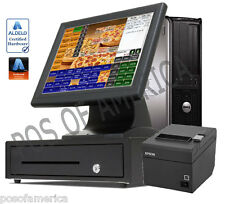ALDELO2013 PRO ION PIZZA RESTAURANT ALL-IN-ONE COMPLETE VALUE POS SYSTEM NEW