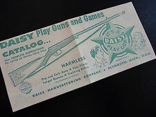 Daisy 1950 Red Ryder Play Guns and Games Catalog Reproduction - Plymouth Mich.