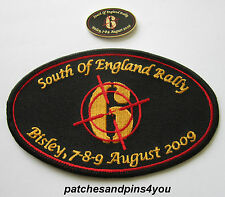 Harley Davidson HOG Bisley SOFER 2009 Patch & Pin NEW!! FREE U.K. POSTAGE!