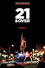 21 AND OVER MOVIE POSTER 2 Sided ORIGINAL 27x40 MILES TELLER
