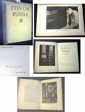 1931 MARGARET BOURKE WHITE EYES ON RUSSIA SIGNED INSCRIBED