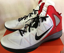 new $160 Nike Zoom Hyperenforcer Flywire 487786-102 Basketball Shoes Men's 18