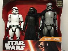 "Star Wars TFA The Force Awakens Chain Of Command 3 Pack 20"" Kylo Ren Phasma"