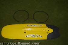 NEW YELLOW front crud catcher mk2 city MTB DH bike mudguard raceguard old style