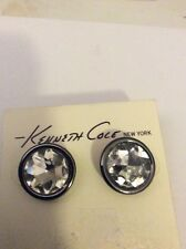 Kenneth Cole Large Crystal Circle Earrings $26 # 28